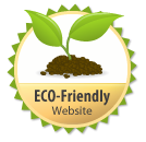 Eco friendly website!