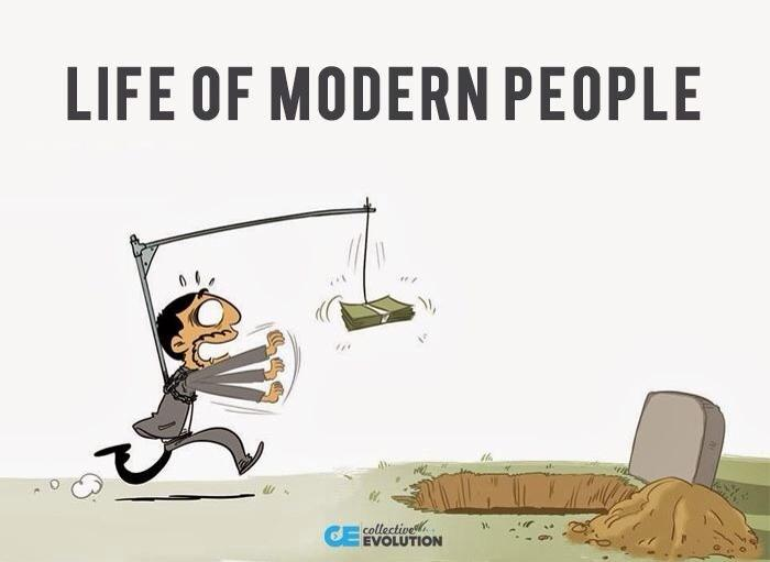 Life of modern people